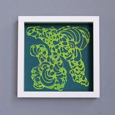 Glitter Drawings - Melissa Borrell Design