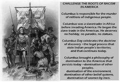 #IMAGE: #Columbus Day: Celebrating 521 years of colonialism