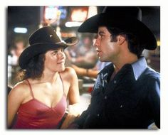 Sissy: You a real cowboy? Bud: Well that depends on what you think a real cowboy is? Sissy: Know how to do Bud: You bet. Sissy: Wanna prove it? Happy Birthday to John Travolta! Urban Cowboy Movie, Debra Winger, Cowboys Memes, An Officer And A Gentleman, Cowboy Images, Cute Couple Halloween Costumes, Favorite Movie Quotes, Favorite Things, Richard Gere
