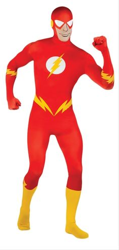 054d05d495 The Flash 2nd Skin Morphsuit - This costume is a fast action super hero  from DC