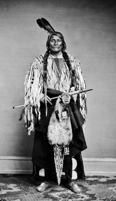 Two Kettle Chief Long Mandan - Ma-wa-tan-na-han-ska 1867