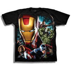 Marvel Avengers Assemble Boys' Graphic Tee Walmart - $6