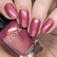 Zoya Element Fall 2018 Collection >> Nail Polish Society - Time to Make Up - Nageldesign Fabulous Nails, Gorgeous Nails, Pretty Nails, Beautiful Nail Polish, Natural Nail Polish, Zoya Nail Polish, Nail Polish Colors, Nail Nail, Fall Nail Polish
