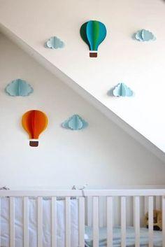 Heißluftballon basteln mit Papier - meinefamilie.at
