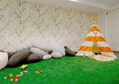 Woodsy Playroom