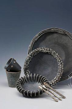 dotted bowl rim - Rita Miranda