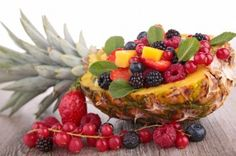 Une salade de #fruits rouges au jus de citron, quoi de meilleur pour finir une repas en #légèreté et finesse...