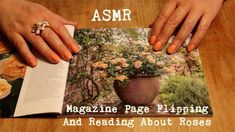 ASMR ~ Magazine Page Flipping and Reading /🌹🌹 Soft Spoken