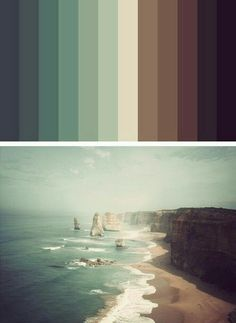 Would make for nice quilt colours Color Palette - Paint Inspiration- Paint Colors- Paint Palette- Color- Design Inspiration Colour Pallette, Color Combos, Good Color Combinations, Earth Colour Palette, Color Schemes Colour Palettes, Colour Board, Color Stories, Color Swatches, Color Theory