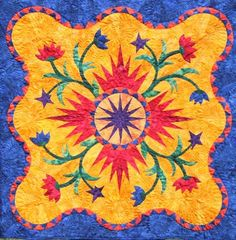 Pepperdish ~ Quiltworx.com, made by Certified Instructor, Maureen Wood