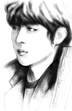 Sketch Drawing #Sungyeol