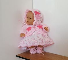 """Handmade Baby Dolls Clothes for 8"""" BERENGUER or similar"""