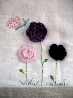 Decoración para las sábanas o unas cortinas