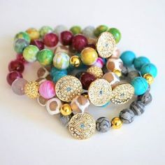 """""""...With Bling and Charms"""" Bracellet Collection by loveMEnation is now available at www.loveMEnation.com"""