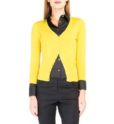 V-Neck Button Down Cardigan - Woolworths Button Downs, Knitwear, Winter Fashion, V Neck, Blazer, Mom, Yellow, My Style, Jackets