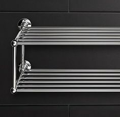 RH's Train Racks:Browse Restoration Hardware's collection of bath towel racks, train racks and much more.  We feature the perfect bath shelf or tower rack for your bath, each made to the standard of quality and stalwart dependability for which we are famous.