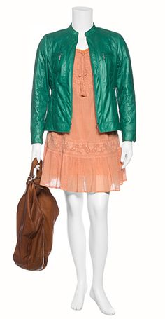 Great plus size outfit for summer nights at navabi.