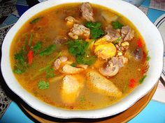 Dom Yam Gai or Chicken & Galangal Soup