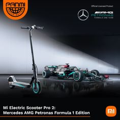 Xiaomi Mi Electric Scooter Pro 2 (Mercedes AMG Petronas F1 Team Edition) for $799 (RRP $1499) + Free Shipping @ Panmi Amg Petronas, Electric Scooter, Mercedes Amg, Ship, Ships