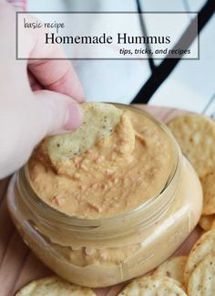 How to make homemade hummus basic recipe
