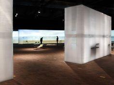 Modest materials generate a sensory experience at Frankfurter Buchmesse - News - Frameweb