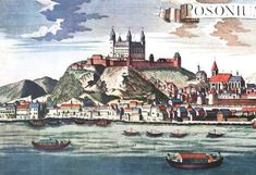 Bratislava, Old Pictures, Hungary, Castles, Painting, Times, Painting Art, To Draw, Antique Photos