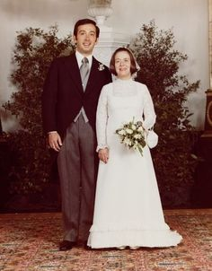 Princess Christina of the Netherlands and Jorje Guillermo, June 28, 1975