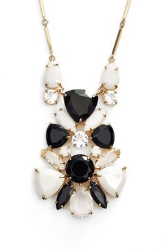 kate spade new york 'twinkle lights' cluster pendant necklace available at #Nordstrom