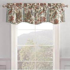 "Red Barrel Studio® Dunnes Regal 50"" Window Valance 