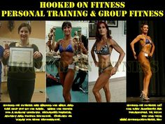 What would your trainer's response be if you asked their story?  Well #HookedOnFitness started from the very beginning and made the journey to a healthy lifestyle change through physical activity and dietary changes.  Contact us today at http://ift.tt/1Ld5awW and schedule your #FREE assessment! Another shot from #HookedOnFitness