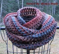 Crochet Pattern PDF Mobius Scarf