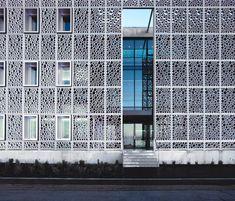 Architectural Concrete Facades - Vifort swatch by Creabeton Matériaux   Facade design