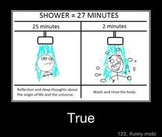 the truth at its finest... Except for me it's like 58 mins and 2 mins... Lol