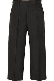 Victoria Beckham Cropped wool wide-leg pants | NET-A-PORTER