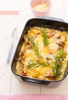 Tartiflette, un plato de la gastronomía francesa