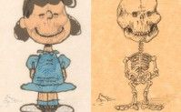 Esqueletos de Personagens dos desenhos animados