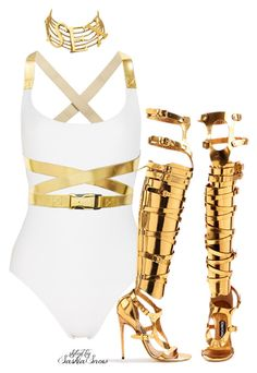 """""""Unbenannt #2616"""" by saskiasnow ❤ liked on Polyvore featuring Michael Kors, Tom Ford and Dolce&Gabbana"""