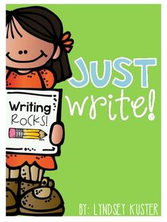 Just Write! {Free Writing Prompts} English Language Arts, Creative Writing Kindergarten, 1st, 2nd, 3rd Worksheets, Activities, Printables...These are a collection of free writing prompts that are perfect for Work on Writing time or other times throughout the day.