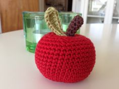Sommerfuglen: Hæklet æble