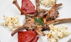 Receta de Chuletillas de cordero con pimientos del piquillo - Karlos Arguiñano