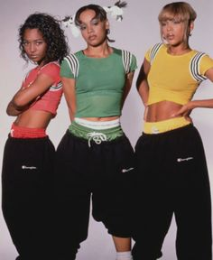 Style Icons - Early TLC w/ Tracksuit Bottoms