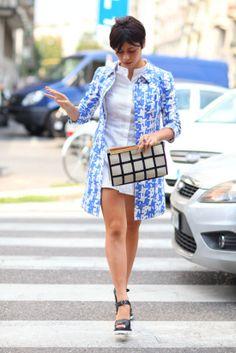 street style: Milan Fashion Week Spring 2014...