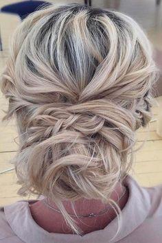 wedding updos braided updo blond hair sotnikova vika
