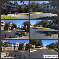 Sealcoating can extend the life of your asphalt by almost double and helps to maintain a smooth, problem-free blacktop surface.  Sealcoat preserves your asphalt for minimal cost per square foot. These are a few pictures from a recent #Sealcoating Job our ABC Team did at the Grande Ville community in Avalon Park. #ParkingLotMaintenance #Sealcoating #ABCPaveandSeal