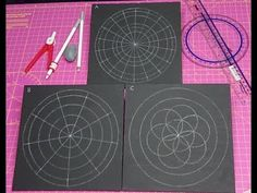 As I know so many artists struggle with how to draw an outline for a mandala that you wish to paint or draw, I thought I'd put together a few videos where I . Painting Templates, Rock Painting Patterns, Dot Art Painting, Painting Tools, Mandala Art Lesson, Mandala Drawing, Mandala Painting, Mandala Painted Rocks, Mandala Rocks