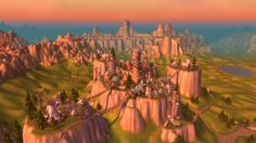 Redditor LPain01 took some amazing screenshots of the World of Warcraft zones, using the Free Far Sight tool to double his in-game view dist...