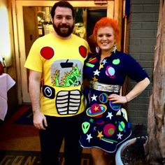 My Miss Frizzle and Magic School Bus Costume!!! Hand made with Liz driving the bus!!!