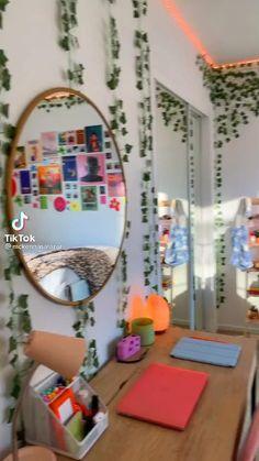 Indie Bedroom, Indie Room Decor, Tumblr Room Decor, Cute Room Decor, Aesthetic Room Decor, Teen Room Decor, Room Ideas Bedroom, Bedroom Decor, Neon Bedroom