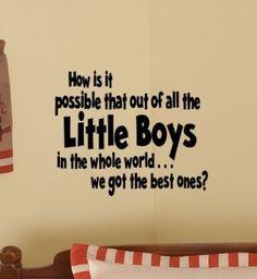:) I love my boys!!!
