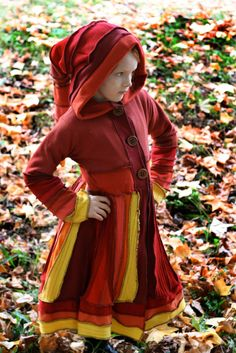 upcycled woollen jumpers pixie coat